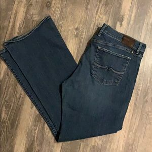 Lucky Brand Sweet n Low Straight Leg Jeans